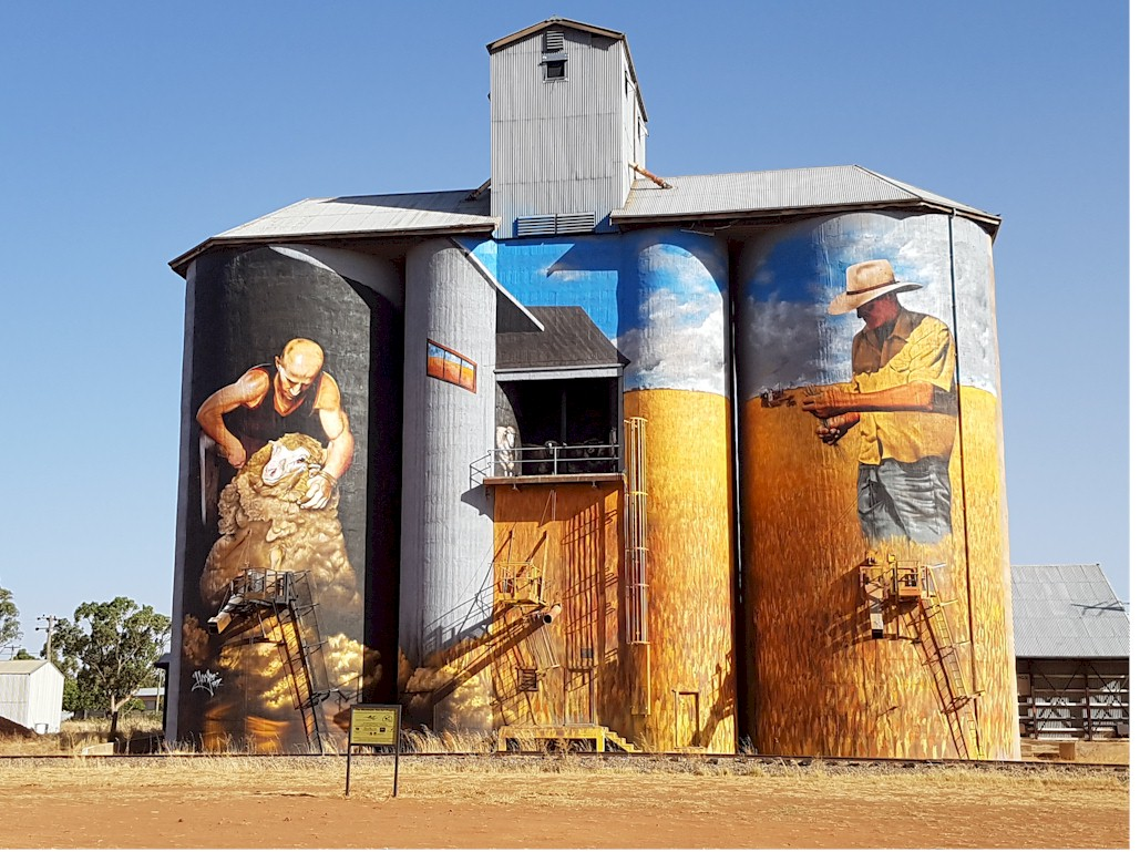 Grain Silos Weethalle