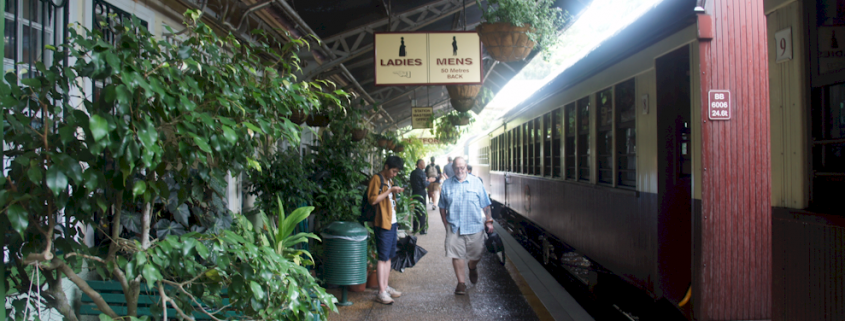 Kuranda Train station