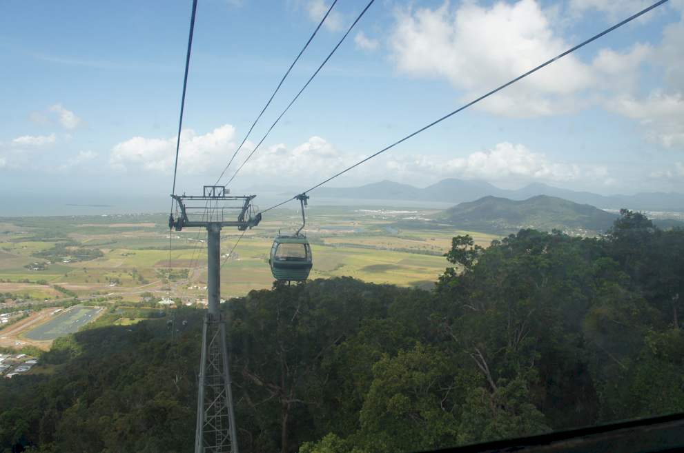 Coming back into Cairns